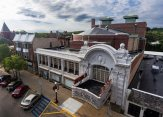 Al Ringling Theater aerial view of new roofing Baraboo Wisconsin