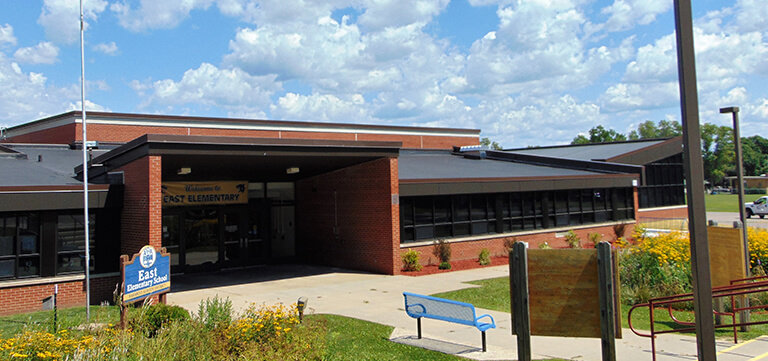 Baraboo East Elementary School new roofing