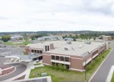 Rubber Roofing project on Divine Savior Health Campus in portage Wisconsin