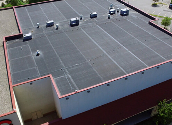 AMC Desert Star Cinema new roofing