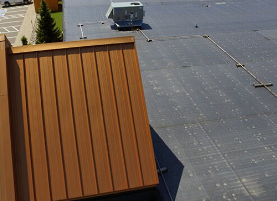 Metal and Rubber Roofing on Knuckleheads in Lake Delton Wisconsin