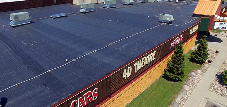 EPDM Metal and Rubber Roofing