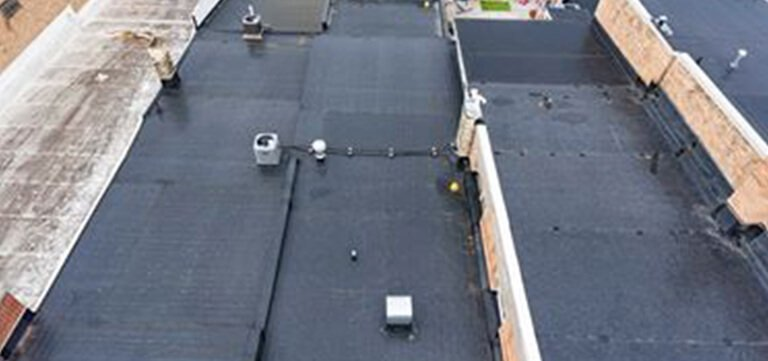 Rubber Roofing on Spa Serenity in baraboo Wisconsin