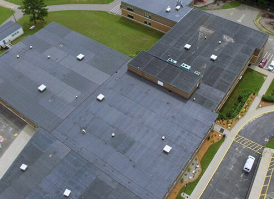 EPDM Rubber And Metal Roofing