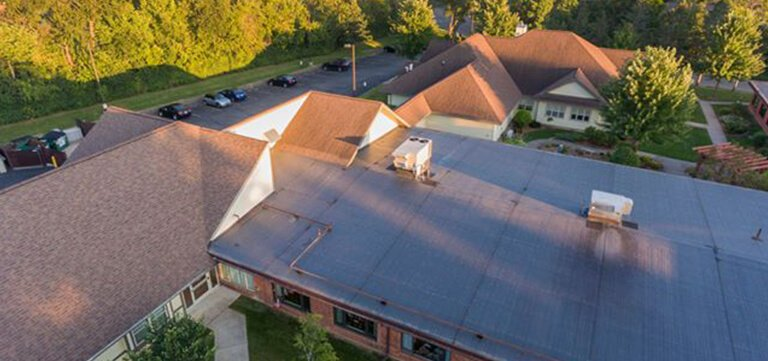 Rubber Roofing And Shingle Roofing