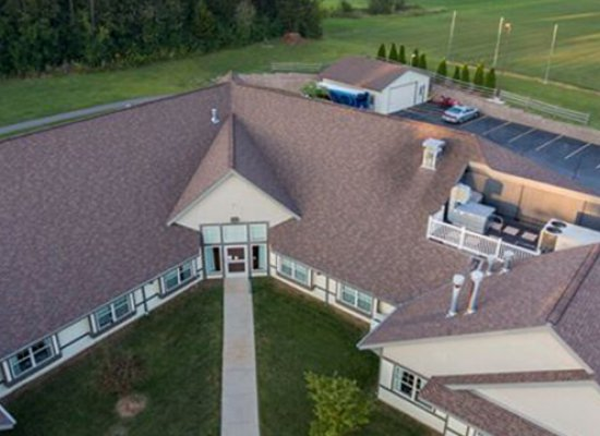 Rubber Roofing And Shingle Roofing on St Claire Medeows in Baraboo Wisconsin