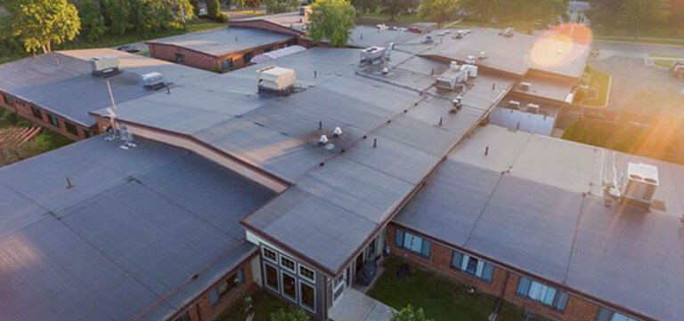 St Claire Hospital Baraboo new roofing