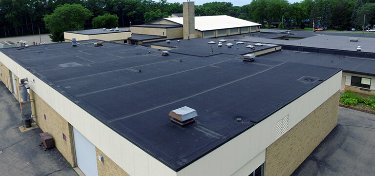 Rubber Roofing project