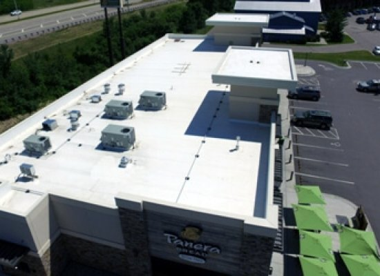 Rubber roofing system